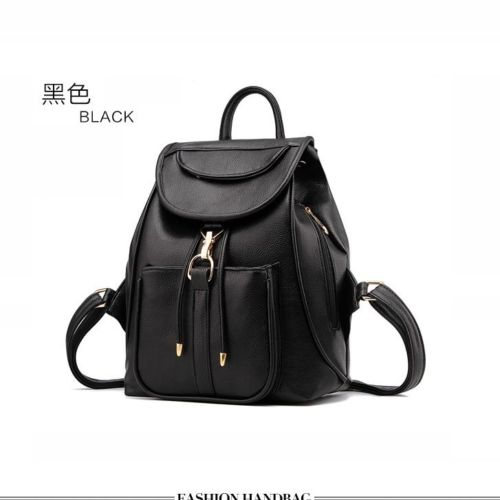 VC85464 IDR.166.000 MATERIAL PU SIZE L28XH32XW14CM WEIGHT 700GR COLOR BLACK (RANSEL)