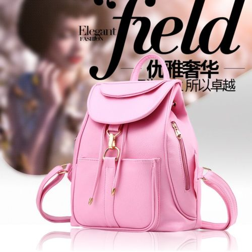 VC85464 IDR.166.000 MATERIAL PU SIZE L28XH32XW14CM WEIGHT 700GR COLOR PINK (RANSEL)