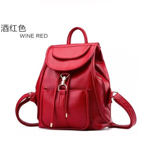VC85464 IDR.166.000 MATERIAL PU SIZE L28XH32XW14CM WEIGHT 700GR COLOR RED (RANSEL)